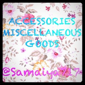 Accessories and Miscellaneous Goods for Sale